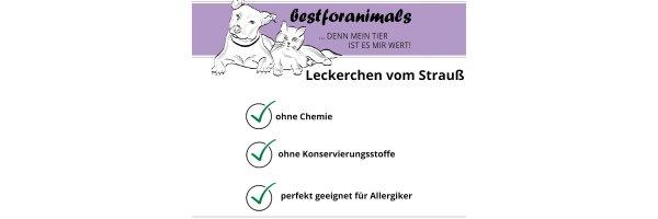 Hundesnacks vom Strauß