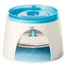 CATIT Fresh + Clear Trinkbrunnen 2L - Blau