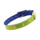 Karlie Safety Light - blinkendes Sicherheitshalsband L