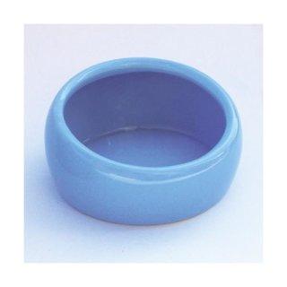 LIVING WORLD Ergonomischer Nagernapf klein blau