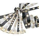 Karlie NOBLE LINE Halsband - Schwarz 25 cm