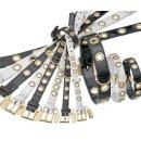 Karlie NOBLE LINE Halsband - Schwarz 35 cm