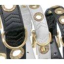 Karlie NOBLE LINE Halsband - Schwarz 60 cm