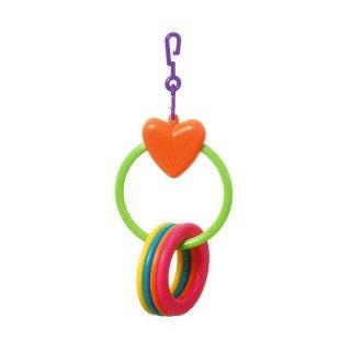 Karlie Herz mit 4 Ringen
