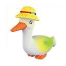 Trixie Latex-Spielzeug Ente mit Strohhut