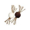 Karlie Flamingo Nature Cat Toy Ball - 2er Set