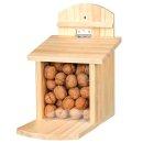 Futterstation für Eichhörnchen, Kiefernholz 20...