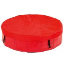 DOGGY POOL Abdeckung / Cover rot 80cm