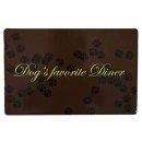 Napfunterlage Dogs favorite Diner, 44 × 28 cm