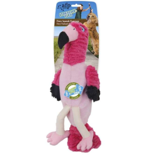 All for Paws Stretchy Flex - Flexy Squeak Flamingo