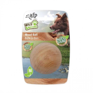 All for Paws Wild & Nature Maracas Wood Ball