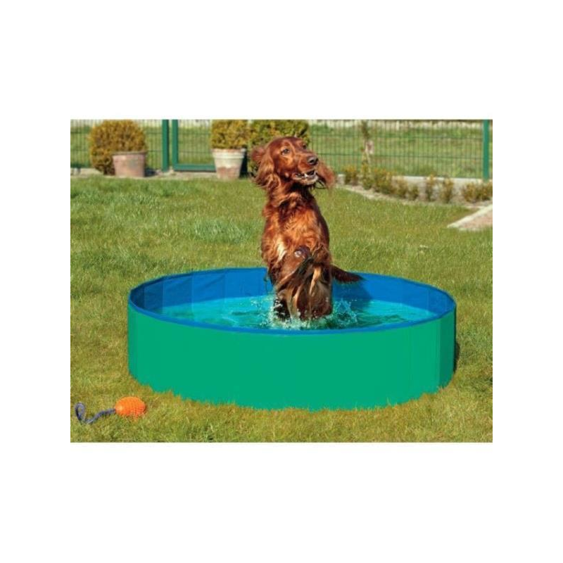 DOGGY POOL GRUN/BLAU