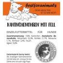bestforanimals Kaninchenohren mit Fell