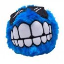 ROGZ FLUFFY GRINZ Hundeball, 7,8 cm blau