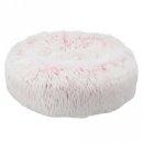 Bett Harvey, rund ø 50 cm, weiß-pink