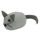 CRAZY CAT Fat Mouse Grey mit 100% Catnip