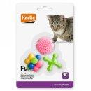 Karlie Gummi-Katzenspielzeug 3 Stück