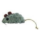 CRAZY CAT Grey Mouse mit 100% Catnip