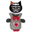 CRAZY CAT Eule mit 100% Catnip