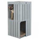 BE NORDIC Cat Tower Juna 77 cm, grau