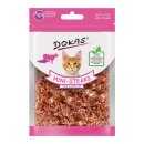Dokas Cat Snack Ministeak Rind & Kabeljau 25g