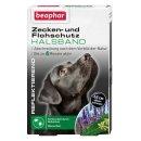 Zecken- und Flohschutz Halsband reflektierend Hund, 65cm