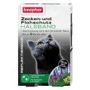 Zecken- und Flohschutz Halsband reflektierend Katze, 35cm