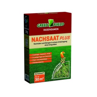 Greenfield Nachsaat Plus 1 kg Faltschachtel