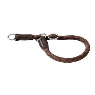 Hunter Dressurhalsung Freestyle - braun Größe: 45 / 10