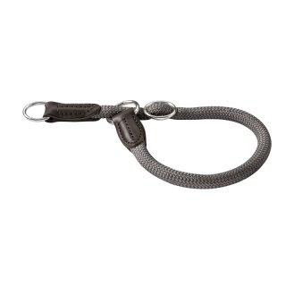 Hunter Dressurhalsung Freestyle - grau Größe: 50 / 10