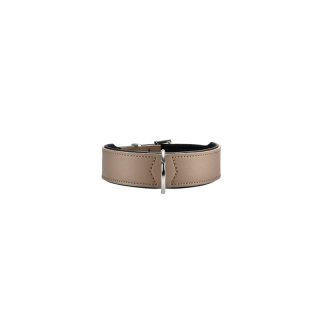 Hunter Hunde Halsband Basic nickel Gr. 50, 35-43 cm