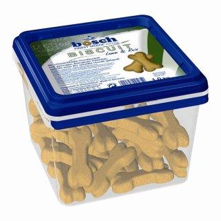 Bosch Dog Snack Biscuit Lamm & Reis 1kg Eimer