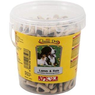 Classic Dog Snack Lamm & Reis Eimer 500g