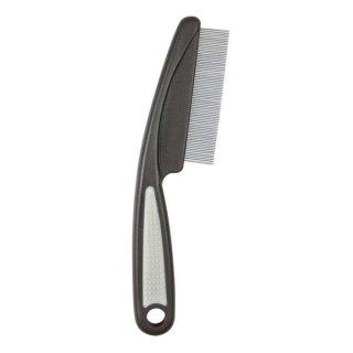 Floh- und Staubkamm, Kunststoff/Metallzinken 15 cm