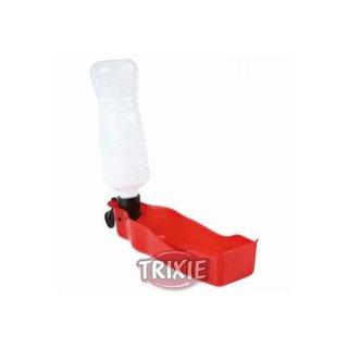 Flasche mit Trinknapf, Kunststoff 0,25 l