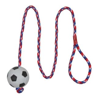 Fußball am Seil, schwimmt, Moosgummi ø 6 cm/1,00 m