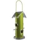 Futterspender, Metall/Kunststoff 800 ml/25 cm, grün