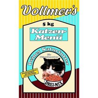 Vollmers Katzen-Menü Drei-Mix 5 kg