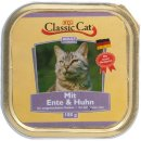 Classic Cat Schale Ente & Huhn 100g