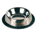 Napf, Edelstahl/Gummiring 0,2 l/ø 15 cm