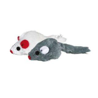 Set Mäuse mit Katzenminze-Kern, Plüsch 5 cm, 6 St.