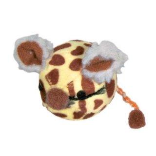 Mausball, Kurzhaarplüsch, Katzenminze ø 4,5 cm, sortiert