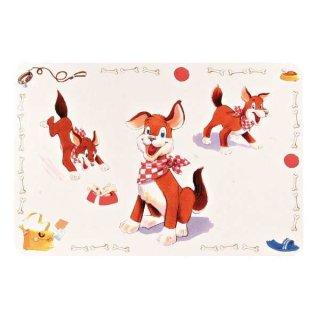 Napfunterlage Comic-Hund 56 × 38 cm