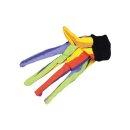 Handschuh mit Mäusen, sortiert, Canvas oder Fleece