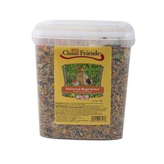 Classic Friends Universal Nagerfutter Eimer 3kg