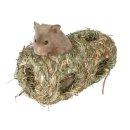 Nest, doppelt, Hamster, Gras ø 10 × 19 cm