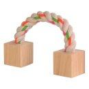 Spielzeug mit Holzklötzen 20 cm