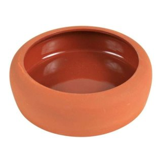 Napf mit abgerundet Rand, Keramik 250 ml/ø 13 cm, terrakotta