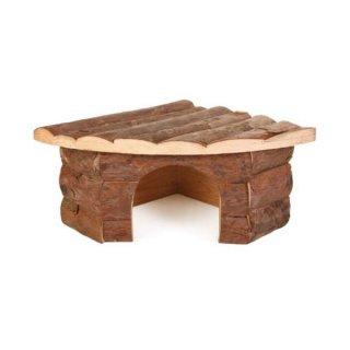 Eckhaus Jesper, Hamster, Rindenholz 21 × 10 × 15 cm