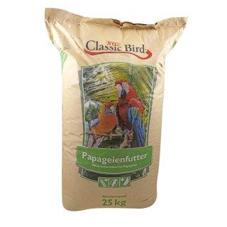 Classic Bird Papageienfutter Züchtermischung 25kg